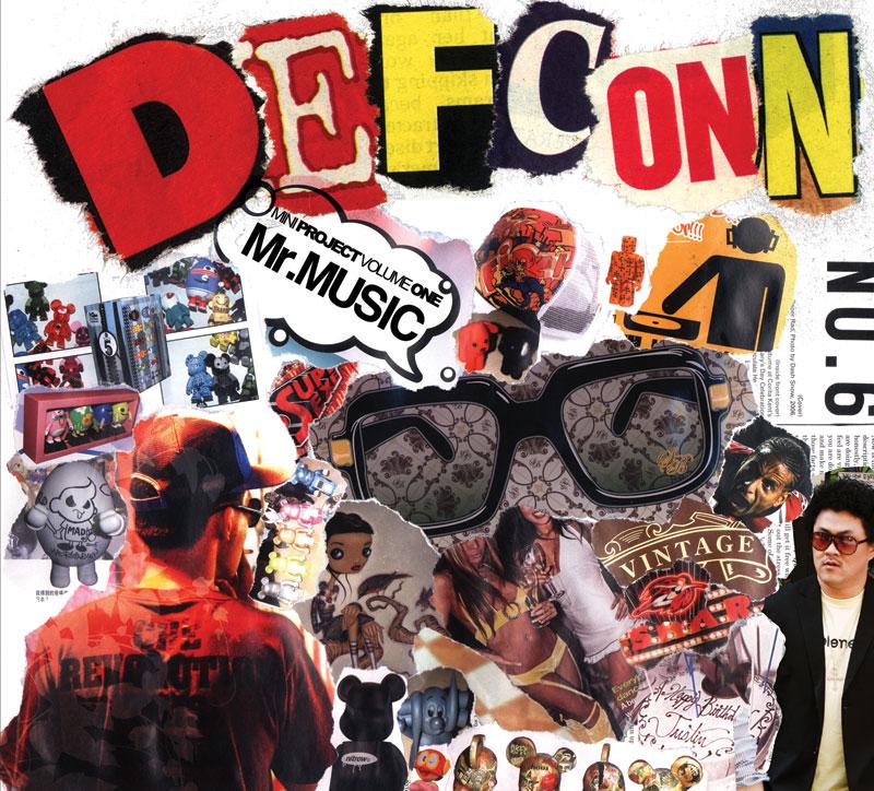 DEFCONN(데프콘) - MINIPROJECT VOLUME 1. MR.MUSIC