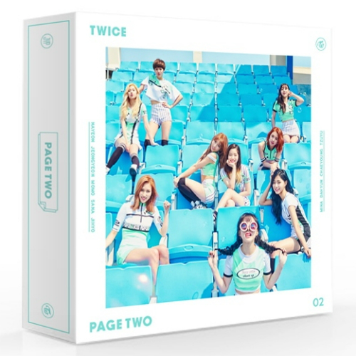 TWICE - PAGE TWO [Mint Ver.]