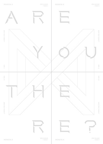 MONSTA X - 2辑 Take.1 ARE YOU THERE? [Ver.I]