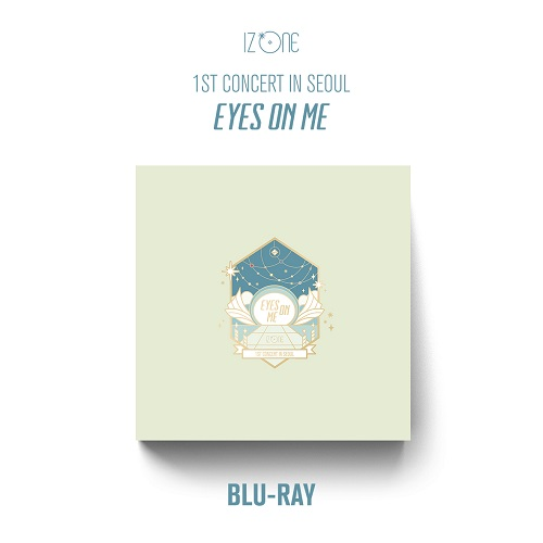 IZ*ONE - 1ST CONCERT IN SEOUL [EYES ON ME] BLU-RAY