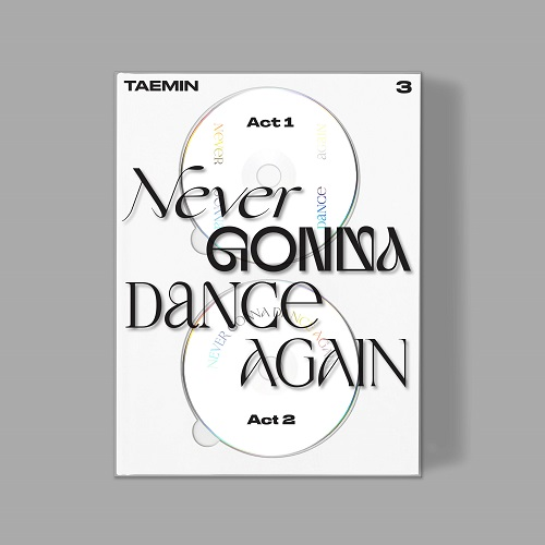 泰民(TAEMIN) - 3辑 合本 NEVER GONNA DANCE AGAIN [Extended Ver.]