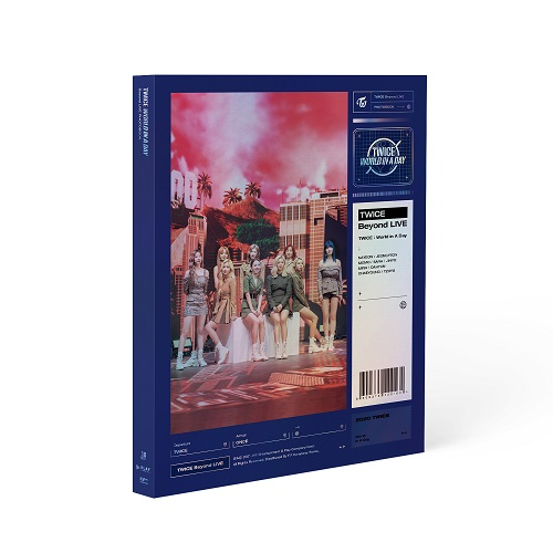 TWICE - Beyond Live TWICE : WORLD IN A DAY Photobook