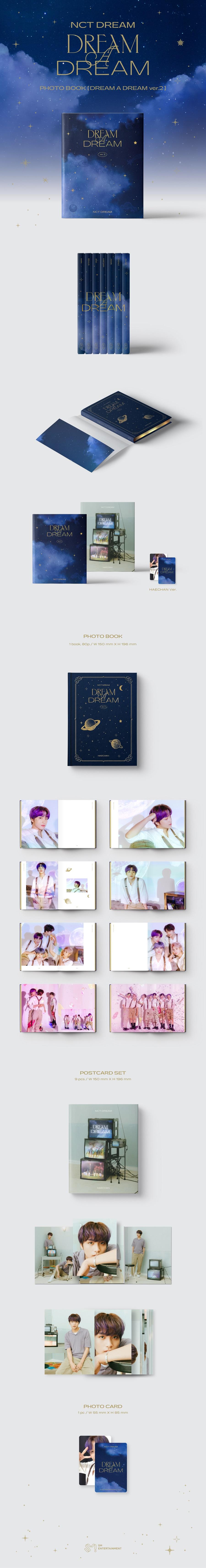NCT DREAM - DREAM A DREAM Photobook Ver.2 [해찬 Ver.]