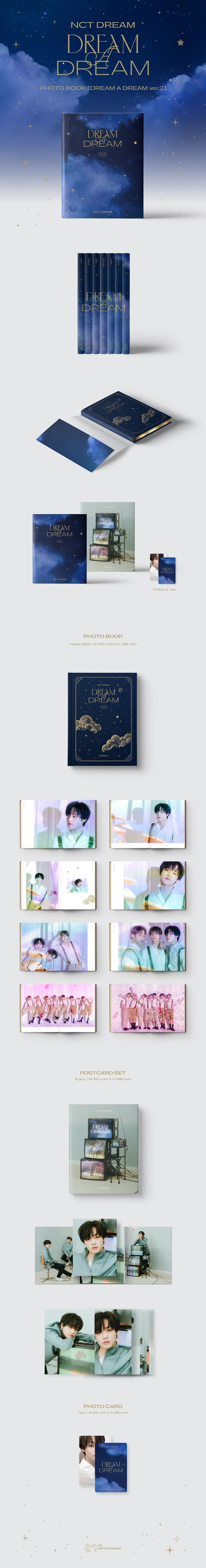 NCT DREAM - DREAM A DREAM Photobook Ver.2 [천러 Ver.]