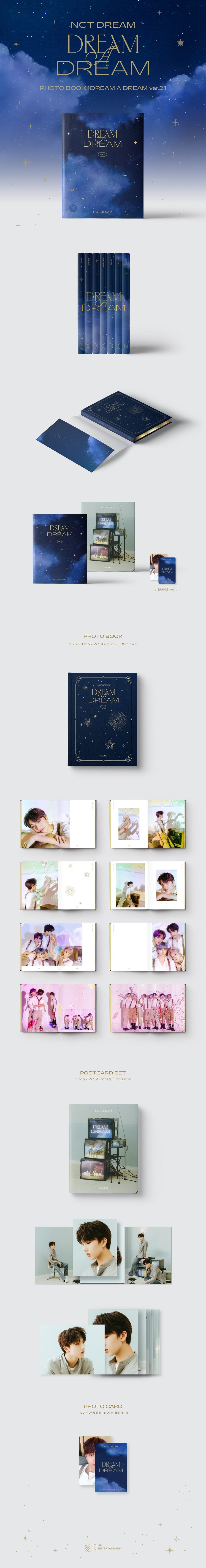 NCT DREAM - DREAM A DREAM Photobook Ver.2 [지성 Ver.]
