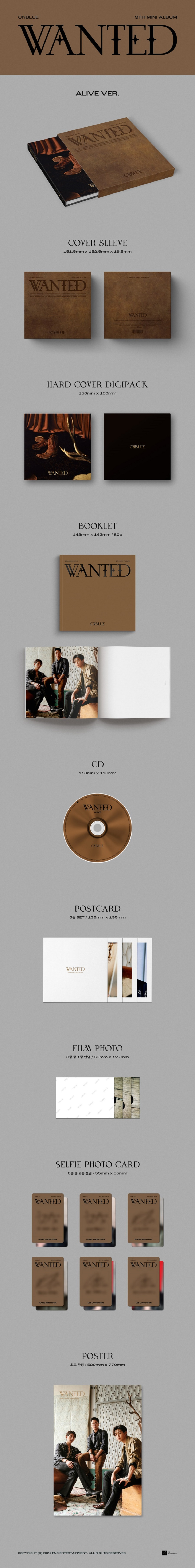 CNBLUE - WANTED []